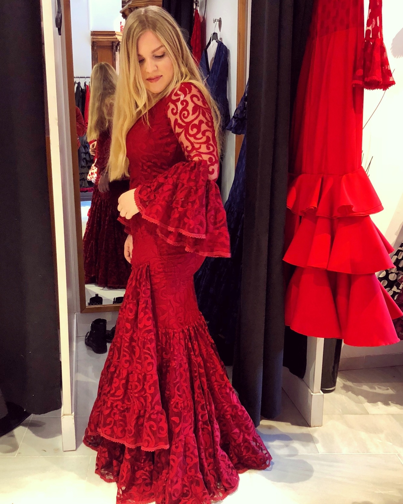 Flamenco Red Robin Custers